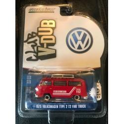 Club V-Dub Series 4 - 1975 Volkswagen Type 2 T2 Fire Truck - Exclusive