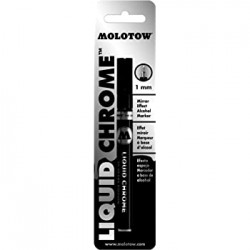 CPE-MOLOTOWCH:  Molotow Liquid Chrome Paint Pen - 1mm Tip
