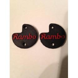 "CPE-RAMBOMOTCVR: ""Rambo"" Embossed Motor Covers"