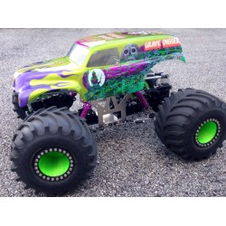 ABC's to building a modified Clodbuster monster truck