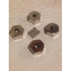 CPE-12MM: Axial Wraith/SMT10 Smooth 12MM Hex Set