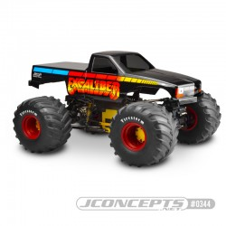 "JConcepts 10th Scale 1988 Chevy Silverado ""Snoop Nose"" Body"