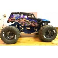 CPE-BAR2K18AL: Axial Barbarian 2K18 Race Chassis - Aluminum