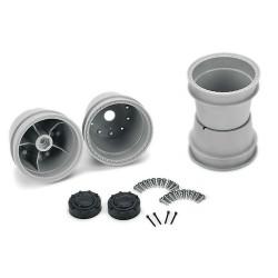 CPE-BRAWLg: Clodbuster Brawler Wheel Pair - Grey Stock Offset