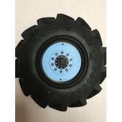 CPE-DRAGRINGGDL: Dragon Wheel Ring Set - Grave Digger Grain Truck