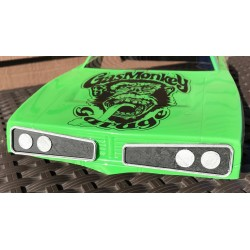 CPE-GASMONKEYGRILL: Gas Monkey Garage '70 Super Bee Grill Set