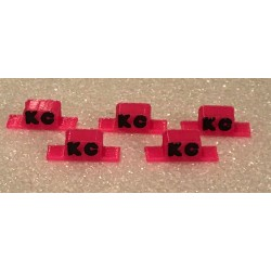 CPE-KCCABLIGHT: Square Embossed KC Roll Bar Lights