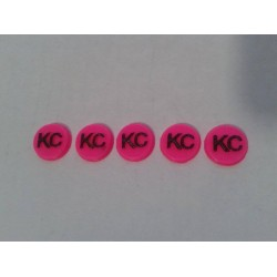 CPE-KCROUND: Clodbuster Embossed KC Roll Bar Round Light Covers