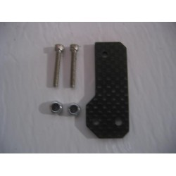 CPE-LOC1CF: Clodbuster Carbon Fiber Rear Steer Lockout Bracket