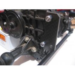 CPE-LOC3TIERODCF: Machined Rear Steer Lockout Tie-Rod - Carbon Fiber