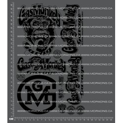 CPE-GASMONKEYDECAL: Gas Monkey Garage Decal Sheet