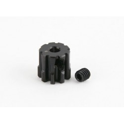 CPE-PINMOD09_3: 9T Mod1 Steel Pinion Gear - 3MM Shaft