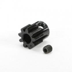 CPE-PINMOD09_5: 9T Mod1 Steel Pinion Gear - 5MM Shaft