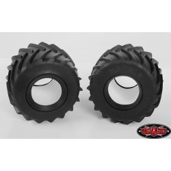 CPE-RUMBx2s: Clodbuster Rumble Monster Truck Tires - X2S Compound