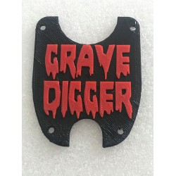 """CPE-SMTCVR_GD: Axial SMT10 """"Grave Digger"""" Chassis Panels"""