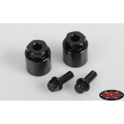 "CPE-SPA1212_25: 12-12mm 1/4"" Machined Aluminum Wheel Spacers"