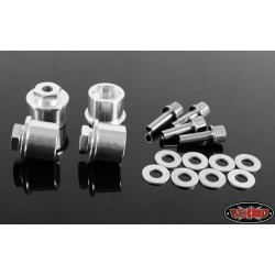 "CPE-SPA1212_50: 12-12mm 1/2"" Machined Aluminum Wheel Spacers"