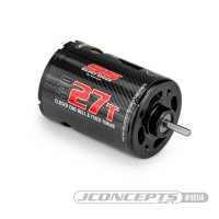 CPE-SSPEED27: JConcepts Silent Speed 27T Sealed Endbell Brushed Motor