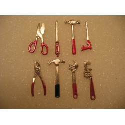 CPE-TOOL1: 12th Scale Miniature Tool Set