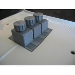 CPE-TRICARB: Clodbuster Triple-Carburetor Insert