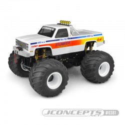 JConcepts 10th Scale 1982 GMC K2500 Body