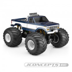 JConcepts 10th Scale 1984 Ford F250 Body - SWB