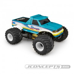 JConcepts 10th Scale 1993 Ford F-250 Monster Truck Body - LWB