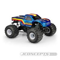 JConcepts 10th Scale 2020 Ford Raptor - Bigfoot 19 Racer Stripe Body