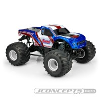 JConcepts 10th Scale 2020 Ford Raptor - Summit Racing Bigfoot 21 MT Body