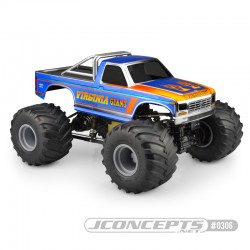 JConcepts 10th Scale 1984 Ford F250 Body - LWB