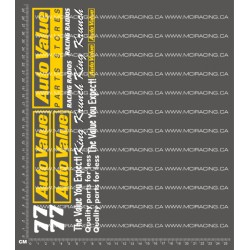 CPE-AUTOVALUEDECAL: Auto Value King Krunch Decal Sheet