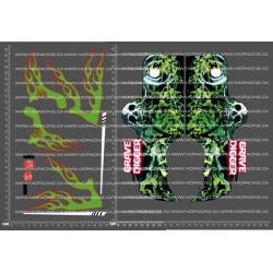 CPE-GD2V2DECAL: Grave Digger #2 Decal Sheet v2