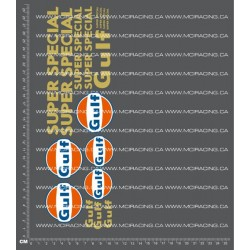 CPE-GULFSSPECIALDECAL: Gulf Super Special Decal Sheet