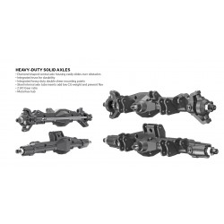 Redcat Wendigo Pre-Assembled XR247 Axle Kit