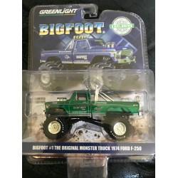 Greenlight 2018 Hobby Exclusive Bigfoot #1 (1:64 Scale) - Green Machine
