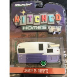 Hitched Homes Shasta 15' Airflyte - Green Machine!